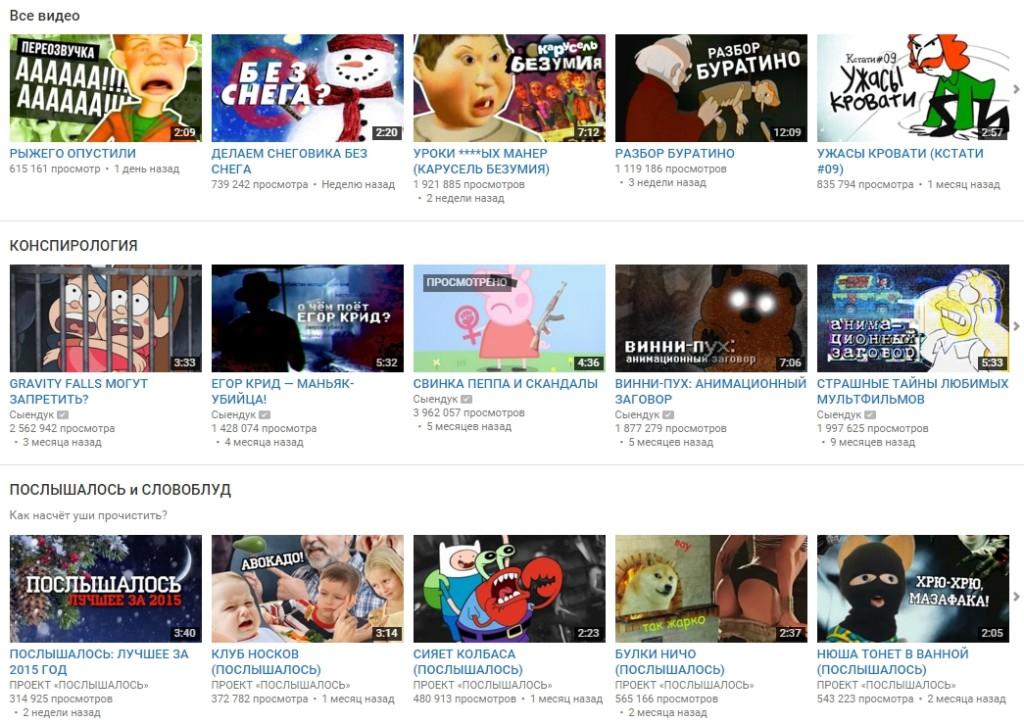 Сыендук - YouTube